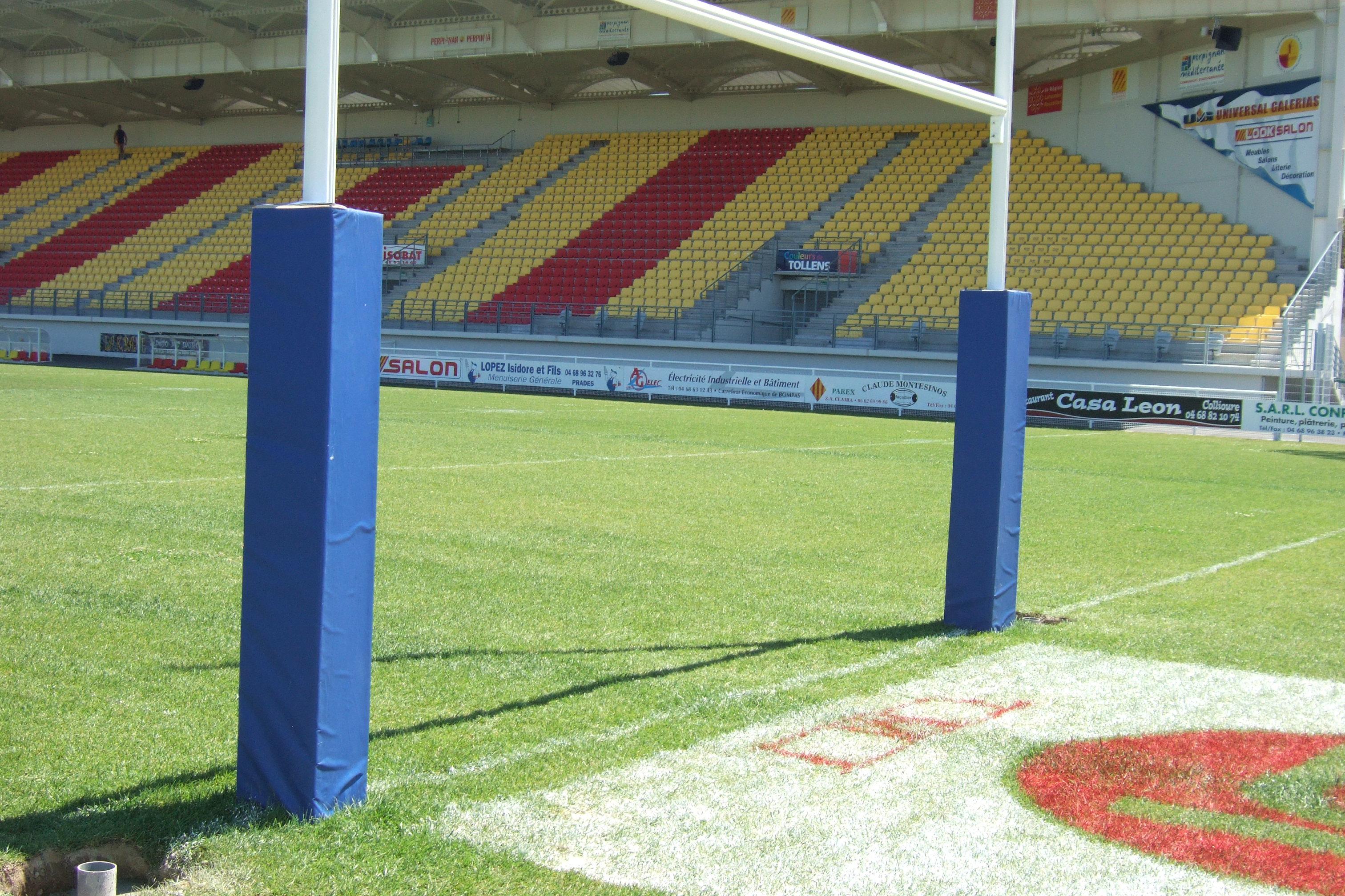 protections pour poteaux de rugby